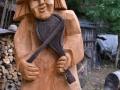 Rzeźby w Długosiodle