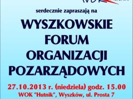 Wyszkowskie Forum Organizacji Pozarządowych