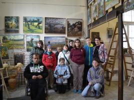 wizyta wychowanków Ośrodka Szkolno - Wychowawczego