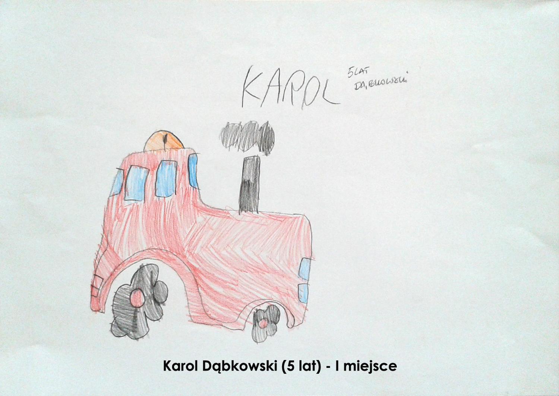 Karol Dąbkowski - I miejsce